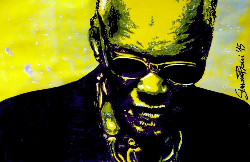Ray Charles by simoflame
